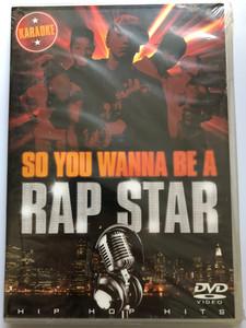 So you wanna be a Rap Star DVD Karaoke - Hip hop Hits / All Lyrics provided on screen / Tracks Performed by DNB Productions / Eminem, Beastie Boys, Missy Elliott, LL Cool J, Salt N Pepa (5050457800796)