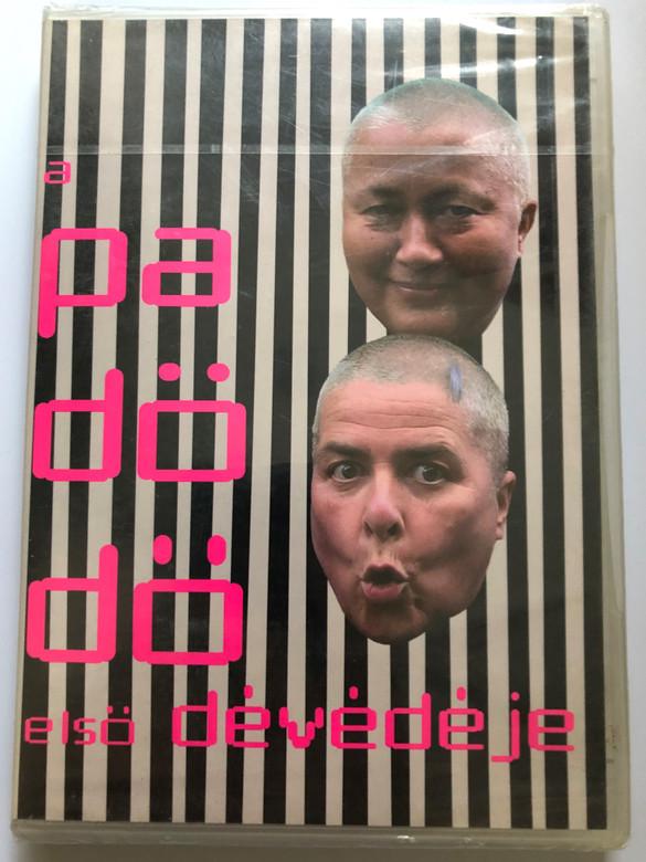Pa-Dö-Dö DVD A Padödö Első Dévédéje / Lang Györgyi - Falusi Mariann / Igazi angyal, én a kismadár vagyok, A legjobb dolog a héten / Europa records ER6029 (5990502068408)