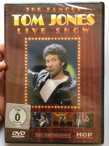 The famous Tom Jones Live Show DVD / Guests: Lynn Andersen, Donny Osmond, Stephanie Mills / MCP Sound & Media / Show from 1981 & 1982 (9002986613954)