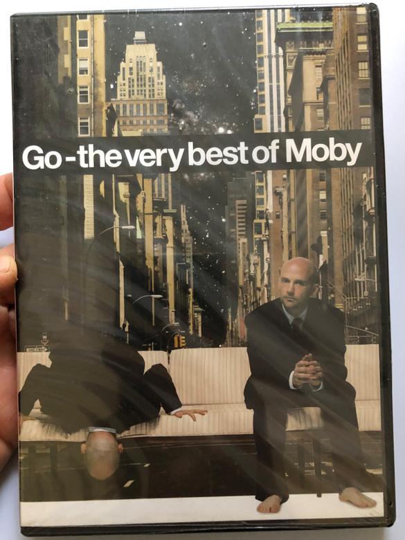 Go - the very best of Moby DVD / Why does my heart feel so bad, Porcelain, Lift me up, Beautiful, Bodyrock, Natural blues / Mute Records / LDVDMUTEL14 (0094637507292)
