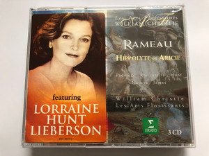 Rameau – William Christie, Les Arts Florissants ‎– Hippolyte Et Aricie 3CD 2012 / Featuring Lorraine Hunt Lieberson / Vocals: Padmore, Panzarella, Hunt, Naouri, James / Erato, Warner Classics, Warner Music (825646630523)