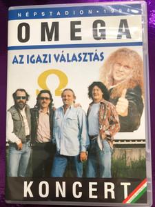 Omega Koncert Népstadion DVD 1994 Az igazi választás / Nyitány (Overture), Gammapolisz (Gammapolis), A Bûvész (The Magician) / Mega records / A második magyar DVD (5998318763050)