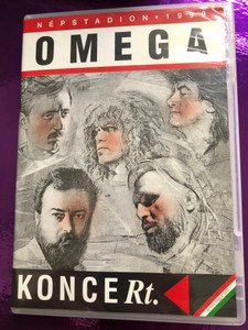 Omega KONCERt. Népstadion DVD 1999 / Directed by Molnár Csaba / The first Hungarian DVD of the famous Omega band / MegA (5998318763456.)