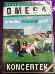 Omega - Koncertek Népstadion DVD 1994, 1999 A búlik MÁSKÉP pen! / Two concerts of famous Hungarian band Omega / Magyar DVD / MegA (5998318763654)