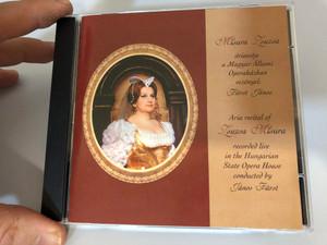 Misura Zsuzsa áriaestje - Aria recital of Zsuzsa Misura - Recorded Live in the Hungarian State Opera House / Conducted by János Fürst / Absolvox Audio CD - MZS 9701 / Magyar Állami Operaház - vezényel Fürst János (MisuraZsuzsaCD)