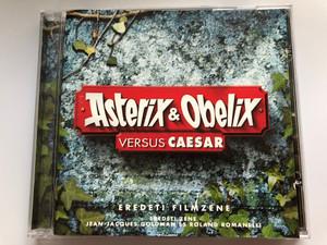 Asterix & Obelix Versus Caesar / Eredeti Filmzene / Eredeti Zene Jean-Jacques Goldman And Roland Romanelli / Columbia Audio CD 1999 / COL 496425 2