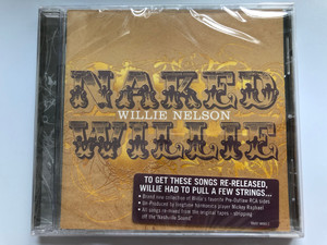 Naked Willie - Willie Nelson / RCA Nashville Audio CD 2009 / 88697 48960 2