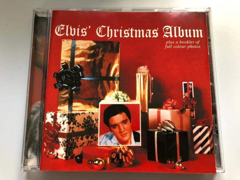 Elvis' Christmas Album / Plus a booklet of full colour photos / BMG Audio CD 1999 / 74321 695762