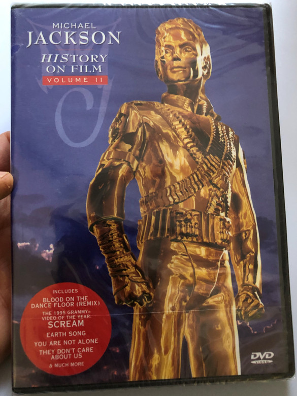 Michael Jackson - History on film DVD Volume 2 / Includes Blood on the Dance Floor (Remix), Scream, Earth song, They don't care about us / Sony BMG Music Entertainment / Two hours of short films that made HIStory (5099705013892)
