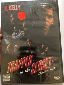 R. Kelly - Trapped in the Closet DVD 2005 Chapters 1-12 / Directed by R. Kelly, Jim Swaffield / Starring: R. Kelly, Cat Wilson, Rolando A. Boyce, LeShay Tomlinson / An opera by American R&B singer (828767358499)