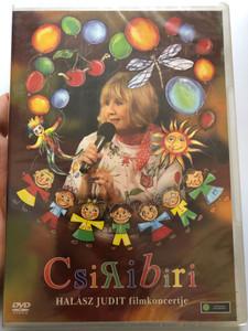 Csiribiri DVD 2009 Halázs Judit filmkoncertje / Directed by Rózsa János / Zenés családi film - dalokban elbeszélve / Hungarian Musical family film - narrated in songs (5099960766496)