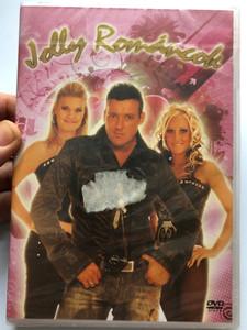 Jolly Románcok DVD A mulatós popzene egyik legnépszerűbb formációja - Koncert DVD / Zsamore - Amore, Fénylő csillag, Nincsen annyi csillag, Pillem-Pillem / Klub Publishing 711-1 / Hungarian folk pop concert (5999545587112)
