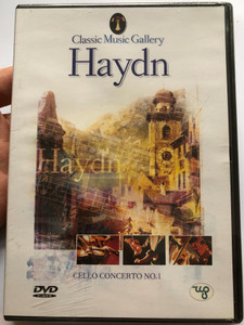 Haydn DVD 2003 Cello concerto no. 1 / Conducted by: Antal Dorati, Rudolf Hahn / Bamberg Symphonic, Munich Haydn Orchestra/ Classic Music Gallery / Watch, Listen and Relax! (8712155087691)