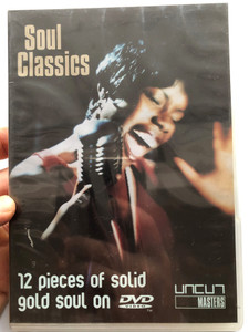 Soul Classics DVD 2003 12 pieces of solid gold soul on DVD / Contains Original Recordings / Gloria Gaynor, Kool & The Gang, Stereo MC's, Donna Summer / Uncut Masters / CUT1009 (801735400987)