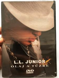L.L. Junior - Olaj a tűzre DVD 2006 Soha nem látott teljes koncertfelvétel / Never before seen concert recording, making of / MusiCDome (5999546040883)