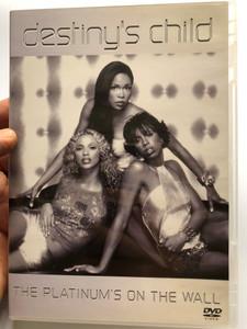 Destiny's Child DVD 2001 The Platinum's on the wall / Nothing by No. 1 Hits! / No, no, no, Bills, Bills, Bills, Say my name / Sony Music Entertainment / Bonus videos (5099705402290)