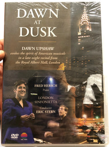 Dawn at Dusk DVD 1996 London Sinfonietta / Directed by Simon Broughton / Conducted by Eric Stern / Dawn Upshaw evokes the spirit of American musicals / Royal Albert Hall / NVC Arts (5051442156423)