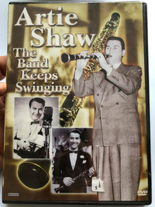 Artie Shaw DVD 2004 The Band keeps Swinging / Dancing in the Dark, Breeze over the Ocean, Star Dust, Clarinet Sing, Frenzied / Carinco AG - Medusa Entertainment (5055137186047)