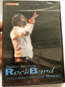 Zeffer András és a Rock Band DVD 2007 Petőfi Csarnok Koncert / Sztárvendégek: Nagy Feró, Vikidál Gyula, Takáts Tamás / Echo Quartet / (5997286704508)