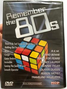Remember the 80s Music DVD / R.E.M, Duran Duran, David Bowie, Cyndi Lauper, R.E.M, Bonnie Tyler / MCP Sound & Media 161.240 (9002986612407)