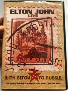 Elton John Live - DVD 1979 Шith Eltoи то яussiд - WITH ELTON TO RUSSIA / Moscow 1979 / Your Song, Daniel, Part time Love, Candle in the Wind, Rocket Man / Legendary Performance (4260078431106)