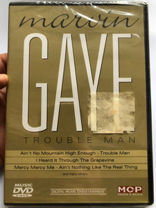 Marvin Gaye - Trouble Man DVD Ain't no Mountain High Enough, I heard it through the Grapevine, Ain't nothing like the real thing / MCP Sound & Media 161.221 (9002986612216)