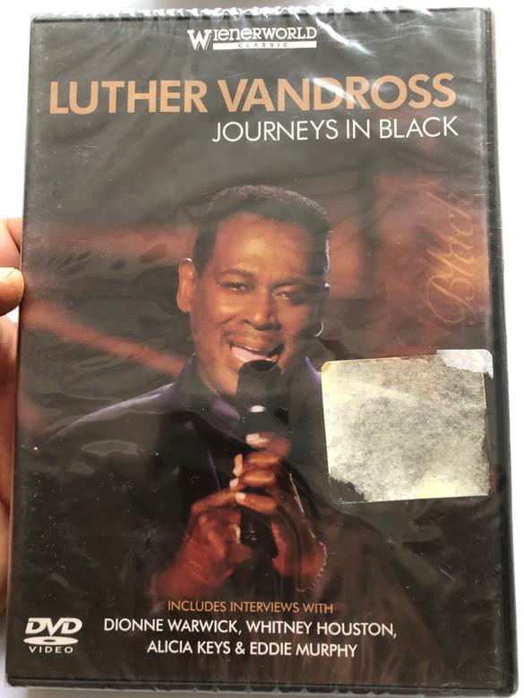 Luther Vandross - Journeys in Black DVD 2004 / Includes interviews with Dionne Warwick, Whitney Houston, Alicia Keys & Eddie Murphy / Wienerworld classic / WNRD 2177 (5018755701351)