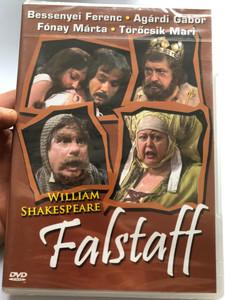 William Shakespeare - Falstaff DVD 1985 Hungarian drama play / Directed by Vámos László / Starring: Mensáros László, Bessenyei Ferenc, Fónay Márta, Törőcsik Mari, Benedek Milós / Europa Records (5990502068323)