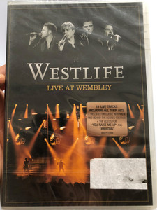 Westlife Live At Wembley DVD 2006 / Directed by Nick Wickham / Visual milestones / Uptown Girl, The Dance, Queen of my Heart, You raise me up / Sony BMG (886970198899)