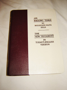 Tagalog - English Bilingual New Testament / Small size Tagalog