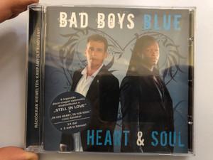 Bad Boys Blue – Heart & Soul / A legendas disco-csapat vadonatuj studioalbum a ''Still In Love'' & ''In His Heart, In His Soul'' cimu dalokkal / 14 dal + 3 extra bonus! / Hargent Media Audio CD 2008 / HGEU 719