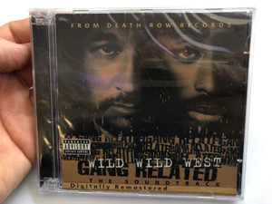 Wild Wild West - Gang Related - The Soundtrack / From Death Records / Digitally Remastered / Death Row Records 2x Audio CD 2001 / PDR2003
