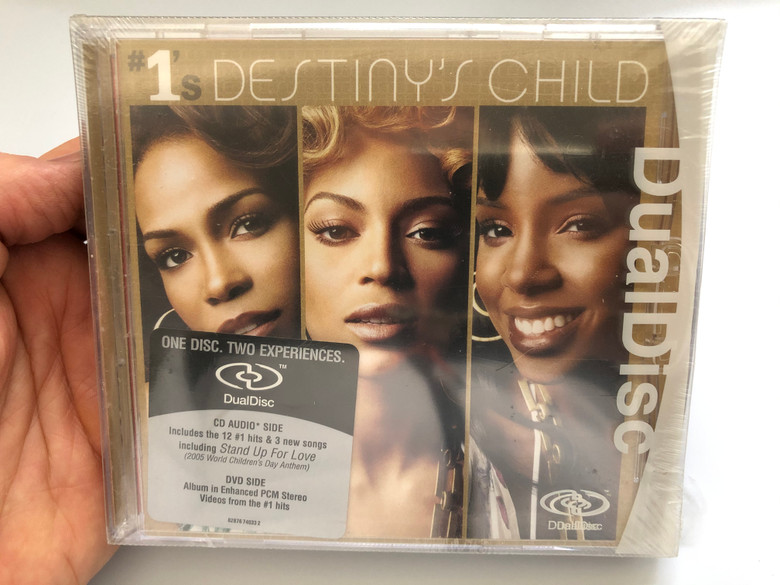 #1's - Destiny's Child / Dual Disc / One Disc, Two Experiences / Includes the 12 #1 hits & 3 new songs / Including Stand Up For Love / Columbia Audio CD + DVD 2005 / 82876740322