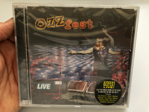 Ozz-Fest Live / 10 Of The Hardest Bands On The Planet In Your Face The Way You Like It. / Featuring: Ozzy Osbourne, Slayer, Sepultura, Biohazard, Fear Factory, Neurosis, Powerman 5000 / Red Ant Entertainment Audio CD 1997 / RAACD001