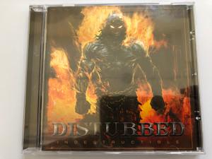 Disturbed – Indestructible / Reprise Records Audio CD 2008 / 9362-49887-9