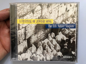 A Festival Of Jewish Song - The Effi Netzer Singers / Tradition Audio CD 1997 / TCD 1060