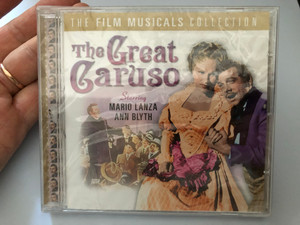 The Great Caruso / Starring Mario Lanza, Ann Blyth / The Film Musicals Collection / Prism Leisure Audio CD 2004 / PLATCD 1263