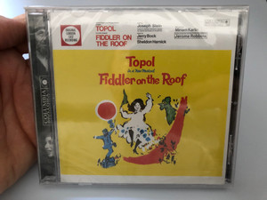 Topol – In a New Musical - Fiddler On The Roof (Original London Cast Recording) / Music by Jerry Bock, Lyrics by Sheldon Harnick / Columbia Audio CD 2001 / SMK 89546