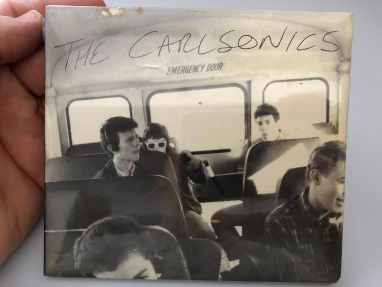 The Carlsonics – Emergency Door / Rykodisc Audio CD 2003 / RCD16038