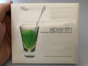 Absinth - The Finest Ambient House & Bar Cuts / Mixed & inspired by la fee verte / Ayia Napa 2x Audio CD 2002 / AYA 81416-2