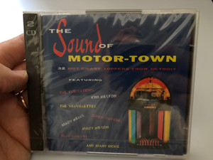 The Sound Of Motor-Town / 32 Hot Chart Toppers From Detroit / Featuring: The Flirtations, Kim Weston, The Velvelettes, Mary Wilson, Jimmy Ruffin, Mary Wells, Billy Griffin, and many more... / Dance Factory 2x Audio CD 1995 / DFR 01-2197-2