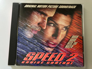 Speed 2: Cruise Control - Original Motion Picture Soundtrack / Rush Hour Hits The Water / Virgin Audio CD 1997 / 724384420420