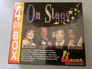 On Stage / C'esti Si Bon, I Had A Hard Day Last Night, What I've Got In Mind, The River's Too Wide, Shine It On, Little Do They Know, Blue Skies, Night And Day, On The Sunny Side Of The Street / 4ever Collection 4x Audio CD, Box Set / 5039