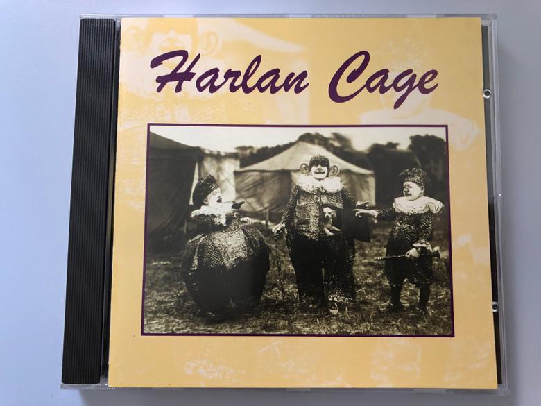 Harlan Cage / MTM Music Audio CD 1996 / 19965