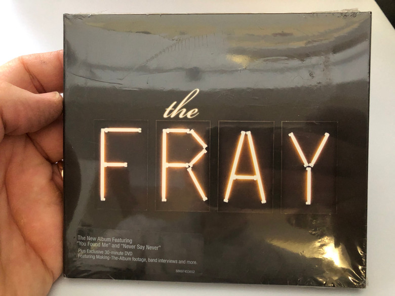 The Fray / The New Album Featuring 'You Found Me' and 'Never Say Never'. Plus Exclusive 30-minute DVD, Featuring Making-The-Album footage, band interviews and more. / Epic Audio CD + DVD / 88697 45365 2