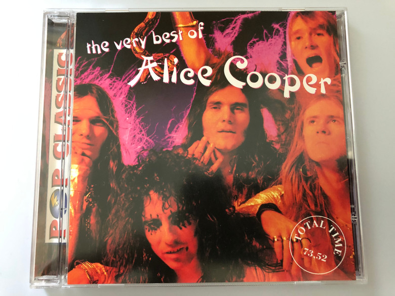 The Very Best Of Alice Cooper / Total Time 73.52 / Pop Classic / Euroton ‎Audio CD / EUCD-0103