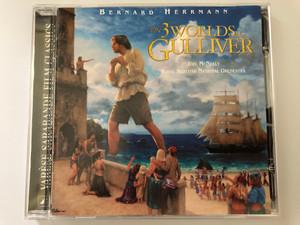 Bernard Herrmann – The 3 Worlds Of Gulliver / Joel McNeely, Royal Scottish National Orchestra / Varèse Sarabande Audio CD 2001 / VSD-6162