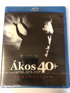 Ákos - Blu-ray dics 2009 - 40+ Turné 2008-2009 Koncertfilm / Asszony, Induljon A Banzáj! - Hello, Ki Helyett Szeretsz?, Gumicukor, Keresem Az Utam / FalconMedia (5998638329394)