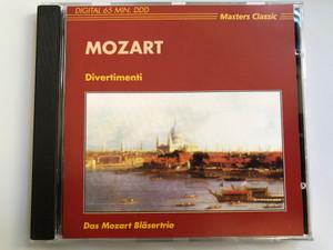 Mozart – Divertimenti - Das Mozart Bläsertrio / Masters Classic Audio CD / CLS 4234
