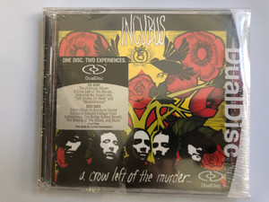 Incubus – A Crow Left Of The Murder... / One Disc, Two Experiences, Dual Disc / Featuring the Smash Hits ''Talk Shows On Mute'' and ''Megalomaniac'' / Epic Audio CD + DVD 2005 / EPC 515047 7